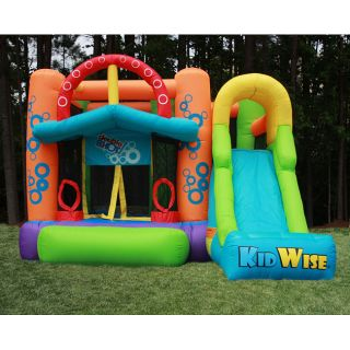 Child Kids Inflatable Airblown Party Bounce Bouncer House Slide New