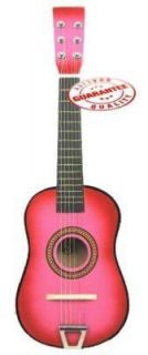 Star Kids Acoustic Toy Guitar 23 Pink Color