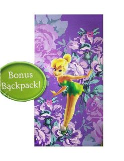Disney Fairies Tinkerbell Kids Sleeping Bag Slumber Party Bedding