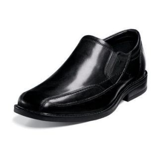 Nunn Bush The Kieran Mens Black Leather Slip on Shoe 84298 001