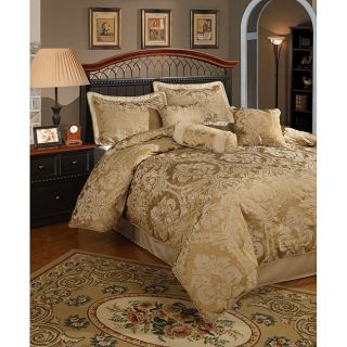 Piece Gold Comforter Set Halifax King or Queen Size