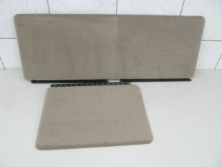 Ford F150 King Ranch Edition Rear Seat Carpet Covers Trim Fold Down
