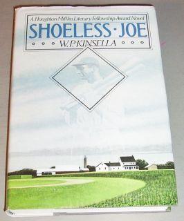 Signed W P KINSELLA SHOELESS JOE BASEBALL GAME FIELD OF DREAMS FIRST