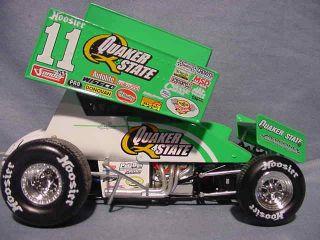 2002 Steve Kinser Quaker State 11 Sprint Car Action Xtreme 1 24 World