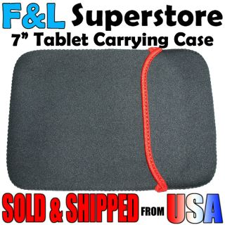 Tablet Sleeve Case Soft for Nook Kindle Fire C71 E72 M009S More