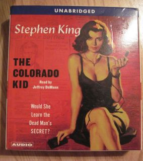 Stephen King The Colorado Kid Unabridged Audio Book read by Jeffrey