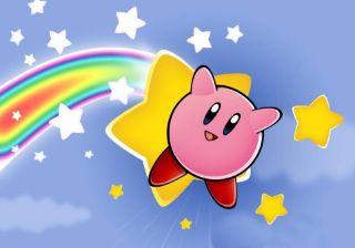 Kirby Nintendo Frosting Sheet Edible Cake Image