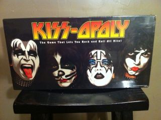 Kiss Opoly Monopoly Board Game Mint SEALED in Original Package
