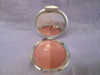 Borghese Kirkland Sheer Satin Blush Duo Tawny Peach 28 oz Unboxed