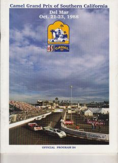 1988 Program IMSA Camel GT Del Mar