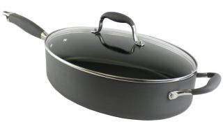 Advanced 81965 5 Qt Covered Oval Saute Pan Kitchen Cookware