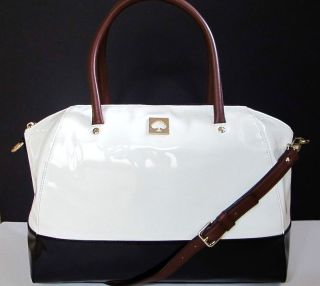 NEW NWT Kate Spade Kingsbury Park Catalina Large Bag Purse Tote Patent
