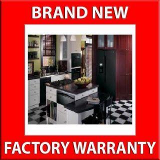 Black Advantium Five Piece Kitchen Appliance Package   Gas Cooktop