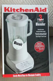 Kitchen Aid 3 Speed Blender Model KSB3B13 New