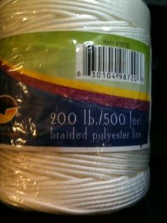 Premier Braided Kite Line 200lb x 500 on Tube