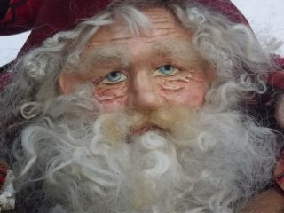 Kims Klaus Handmade Santa Vintage Christmas Anitique Sleigh Bell