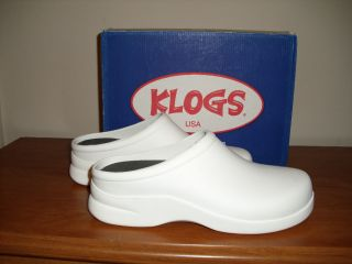 Klogs White Size M Klogs Shoes Great for Nursing Healthcare New