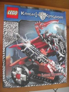 Lego Castle Knights Kingdom II Lord Vladek 8702