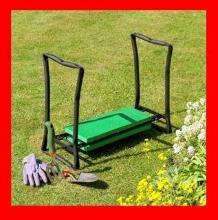 Portable Folding Garden Kneeler and Seat Chair Pad Stool