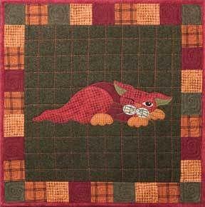 Garden Patch Cats Yammy Cat Pattern by Helene Knott