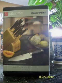 Wusthof Grand Prix II Knife Block Set 12 Piece Brand New Factory