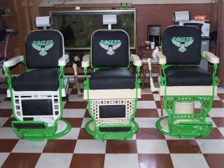 Antique Koch Barber Chairs