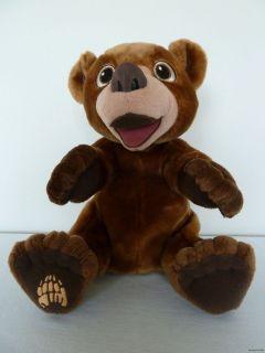 Disney Brother Bear Koda Tumble N Laugh Lot of Fun Plush Bear Very