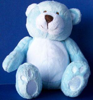 Koala Baby Light Blue White Teddy Bear Plush Lovey Stuffed Animal