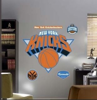 Fathead New York Knicks Team Logo Basketball Wall Decal Poster 4 Feet