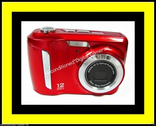 Kodak EasyShare C143 Red Large Screen Sharp Picture Easy to Use