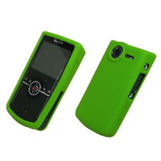 Green Silcone Skin Cover Case for Kodak Zi8 Pocket Video Camera