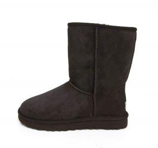 UGG Australia Womens 5825 Classic Short Chocolate Sizes 5 6 7 8 9 10