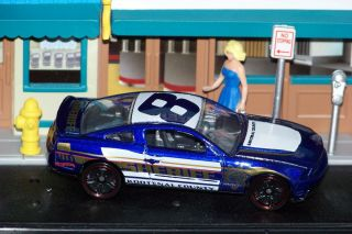 Hot Wheels 2010 Ford Mustang GT Kootenai County Sheriff Car 8