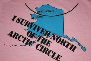 Vtg 80s Kotzebue Alaska Shirt Soft Thin