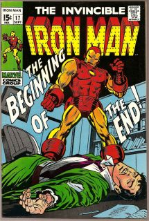 Iron Man No 17 Tony Stark Invincible Avengers Silver Age Marvel Comics