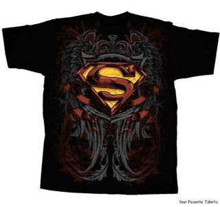 DC Comics Superman Son of Krypton Symbol Adult Shirt s 2XL