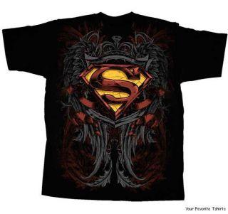 DC Comics Superman Son of Krypton Symbol Adult Shirt s 2XL