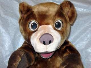 Disney Brother Bear TumbleN Laugh Koda Talking Plush
