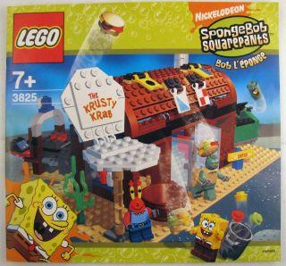 Lego 3825 Spongebob Krusty Krab Instruction Manual Only