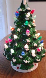 Kurt Adler 36 Light Ceramic 9 High Christmas Tree