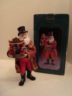 Kurt S Adler Musical Santa Drosselmeir with Box Plays Nutcracker Suite