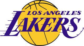 Los Angeles La Lakers Logo Window Wall Sticker Vinyl Car Decal Any