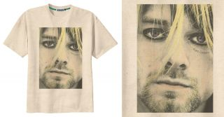 RETRO KURT COBAIN NIRVANA GRUNGE BAND ROCK T Shirt Tee Vintage