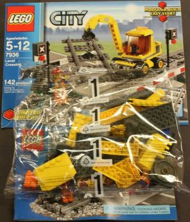 Lego City Level Crossing 7936 Repair Truck Only New Loose