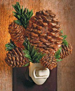 Cabelas Wild Wings Pine Cone Night Light NIB Reg $24 99