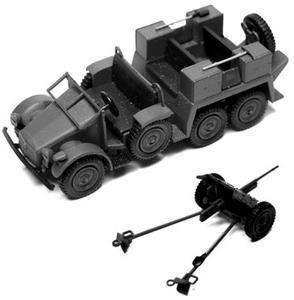 Arsenal M German WWII Krupp Protze 3 7cm Antitank Gun
