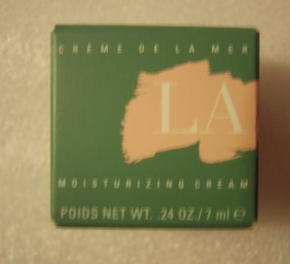 LA MER Creme De La Mer Moisturizing Cream 24 oz 7 ml LUXURY Brand New