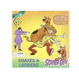 Scooby Doo Snakes Ladders Board Game New