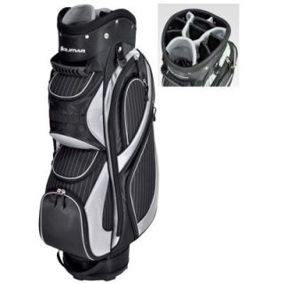 Orlimar Executive Series Ladies Pinstripe Golf Cart Bag Color Black