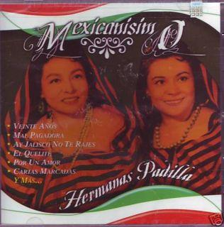 Hermanas Padilla Coleccion Mexicanisimo 24 Exitos
